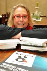 Die gebürtige Gemünderin und Krimiautorin Elke Pistor hatte die Idee, den Krimitag im Kulturkino Vogelsang zu veranstalten. Bild: Roman Hövel/vogelsang ip