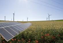 Erneuerbare Energien schonen nicht nur das Klima, sondern können auch finanziell lukrativ sein. Montage: epa/Eifeler Presse Agentur