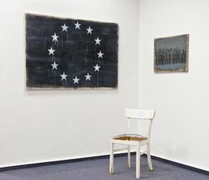 """""""Europa Objekte"""" lautet der Titel dieser Installation von Steffen Blunk. BIld: Privat"""