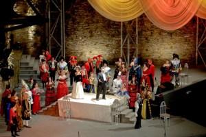 """In Monschau startet am Freitag die """"Monschau Klassik 2013"""". Eröffnet wird das Fest durch Heino, danach geht es klassisch weiter. Bild: Schlieper/Festspiele"""