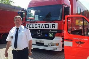 Harald Heinen, stellv. Brandmeister des Kreises Euskirchen, wurde in die Einsatzleitung nach Magdeburg berufen. Bild: Kreis Euskirchen
