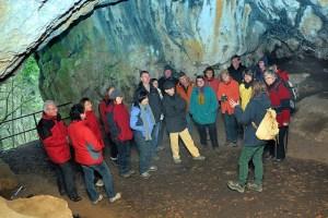 Einen ganzheitlichen Blick auf die Kakushöhle vermittelt Referentin Dr. Anne Katharina Zschocke. Bild: NABU