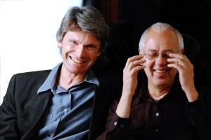 Kennen sich seit Studientagen: Eckhard Radmacher (links) und Wilhelm Geschwind. Zu erleben sind sie am 1. Februar in der Comedia. Bild: Künstleragentur GroßeMusiker