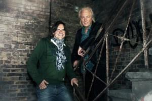 """""""Friends in Concert"""" - unter diesem Motto gastieren die beiden Musiker Jens Streifling und Hannes Schöner (v.l.) in Monschau. Bild: Veranstalter"""