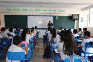 aula con niños