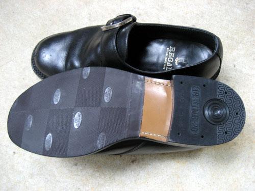 革靴の修理後 靴底