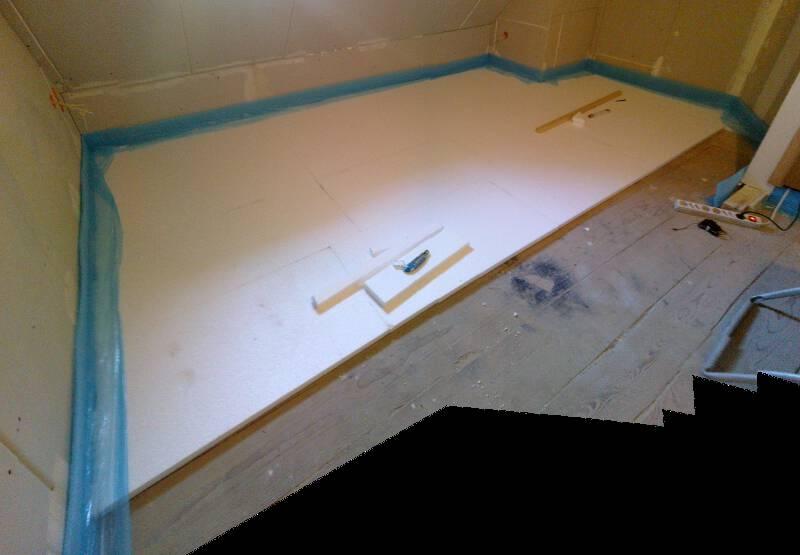 Fußboden Dämmen Ohne Estrich ~ Estrich u fussbodenaufbau und verlegen eigenkonstrukt