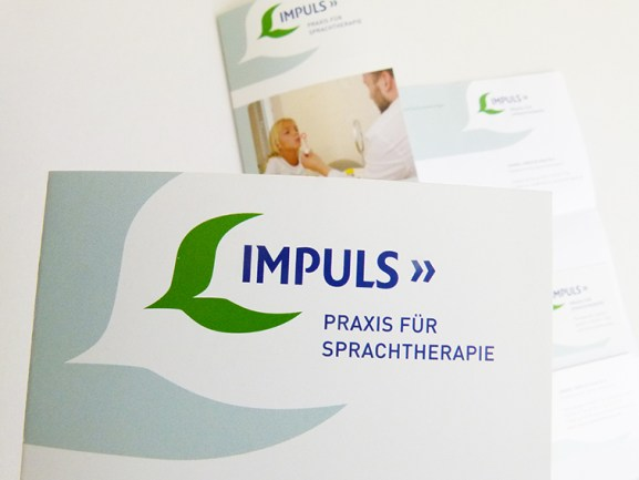 Impuls Praxis für Sprachtherapie Hannover, Corporate Design