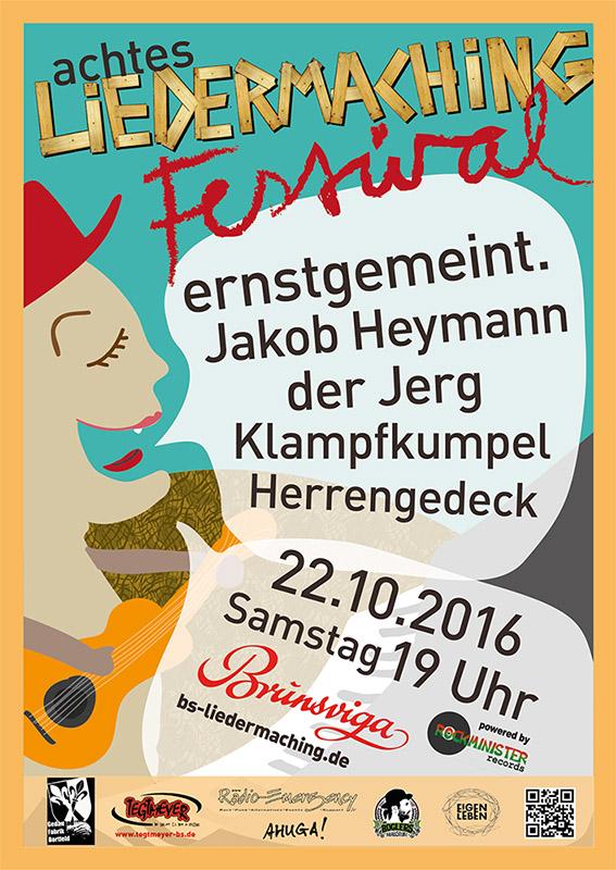 Liedermaching Festival Braunschweig 2016