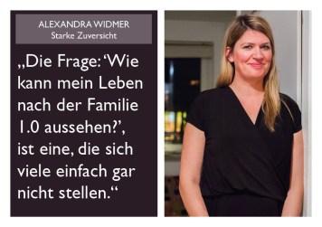 Alexandra Widmer - Starke Zuversicht
