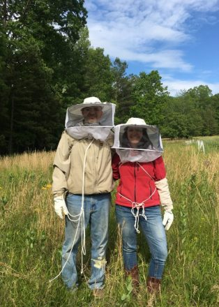 Bee Keepers Martie and Heather