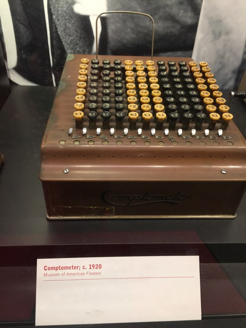 Comptometer, the first commercially successful key-driven mechanical calculator, patented in the USA by Dorr E. Felt in 1887