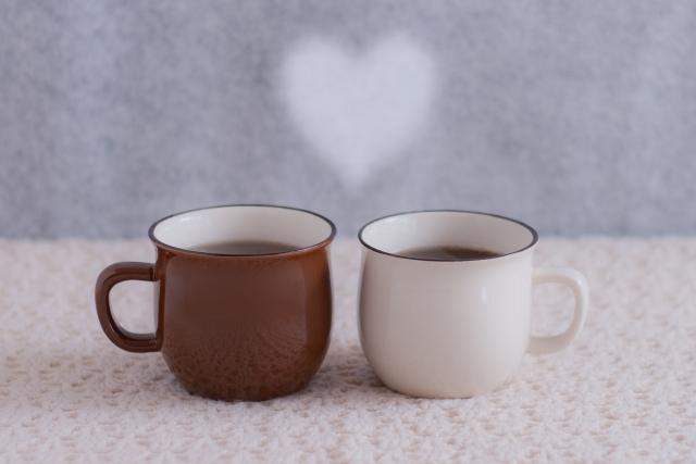 コーヒー カップル