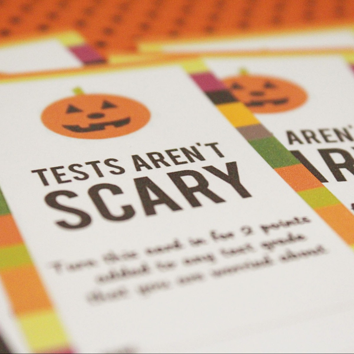 Tests Aren T Scary Teacher Printables