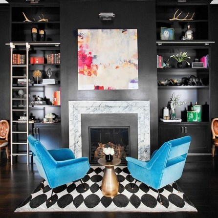 One of our interiors in the West Village