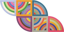 By one of my favorite artists, Frank Stella