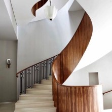 I love the staircase in this West London Victorian townhouse