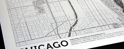 Typographic Map sample