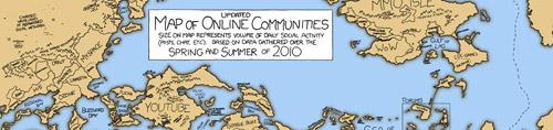 Map of Online Communities 2010