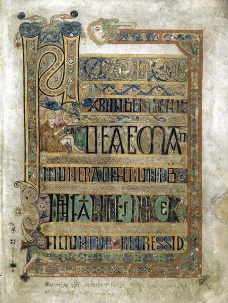Book of Kells Sample