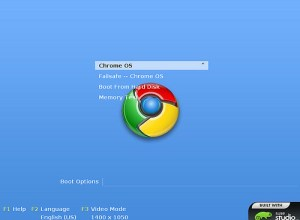 Chrome OS Login Screen