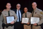 Gregory Stamey, EJDC Security Director Tom Newsome, Juan Almaraz and Michael Kyle.