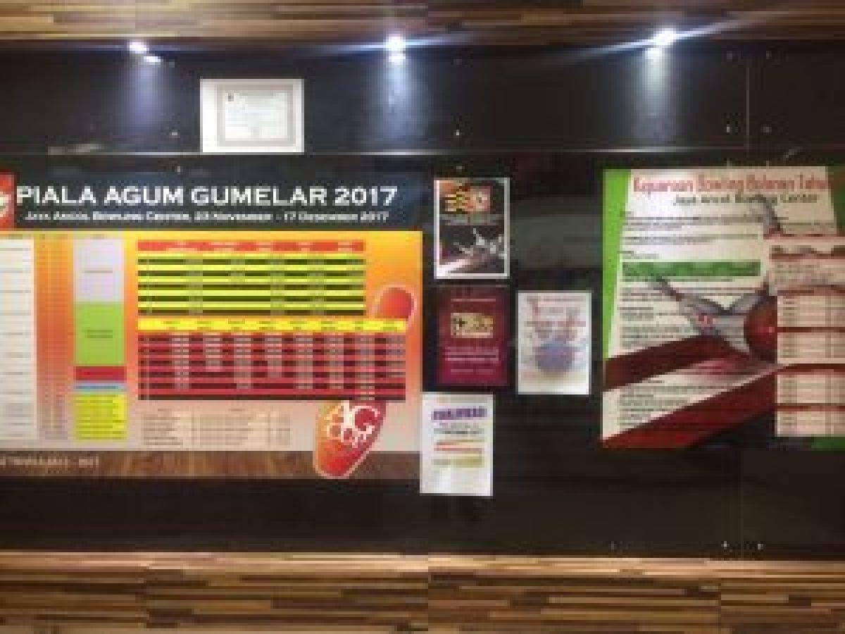 Informasi kejuaraan bowling Piala Agum Gumelar 2017