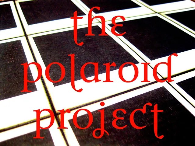 DIY Inspiration-The Polaroid Project:  Part One