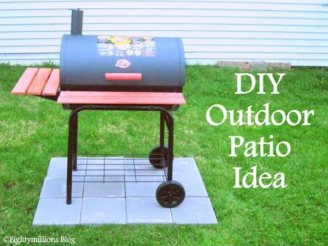 DIY Inspiration: Outdoor Patio Idea