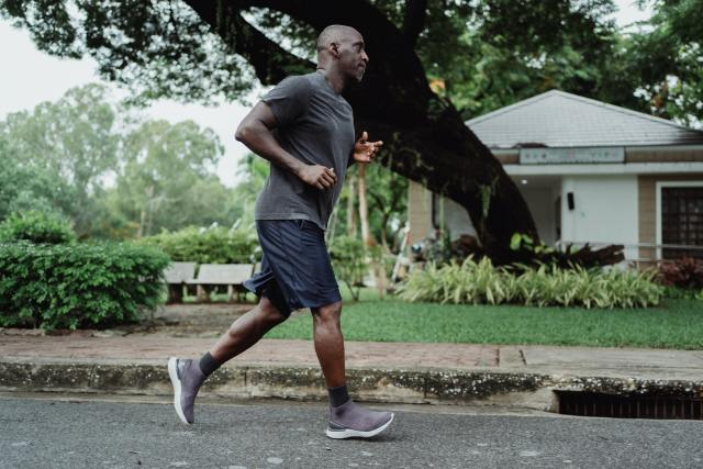A man motivated to keep running and getting better.