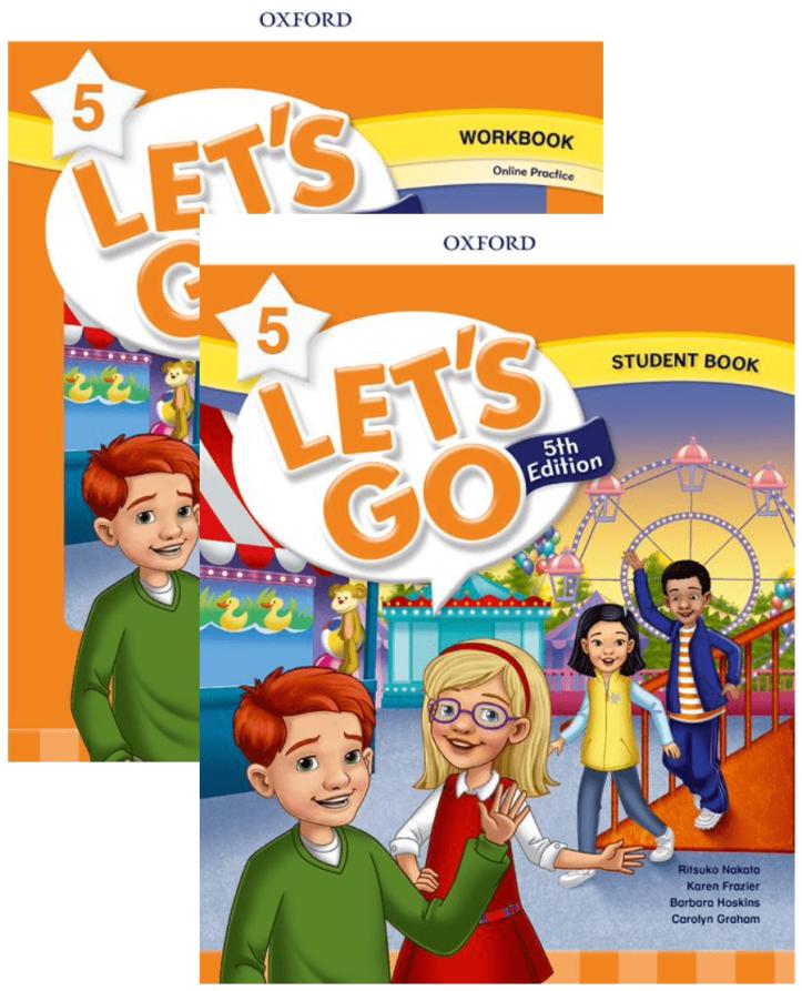 Let's Go 5 テキスト&ワークブック - 函館英会話教室EigoLa - キッズ小学生英会話