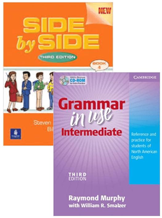 Side by Side Book 4 テキスト&Grammar in Use Intermediate - 函館英会話教室EigoLa - グループレッスン英会話