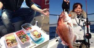 藤岡まなみの釣りの写真