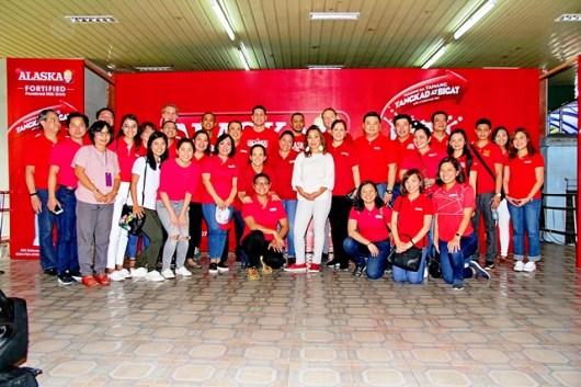 Batang Alaska School Milk Program with Sen. Loren Legarda