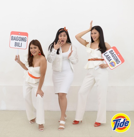 With Tide, White is In!