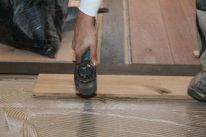 Houten Vloer Lijmen : Verlijmd leggen eiken vloer eiken vloeren