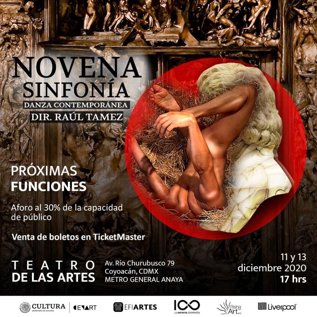 Raúl Tamez y La Novena Sinfonía,insertar la danza contemporánea en el imaginario distópico