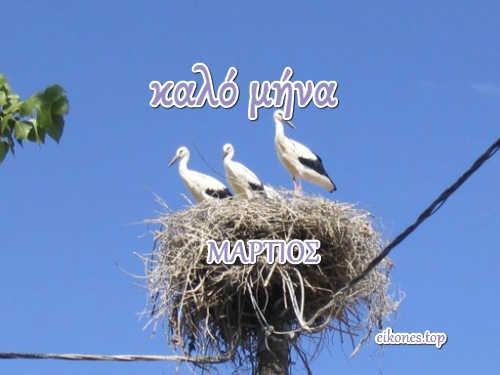 Μάρτιος:Καλό Μήνα!!!