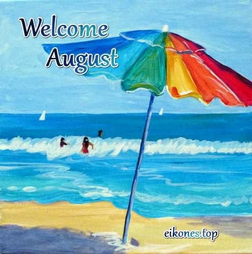 Εικόνες για welcome august