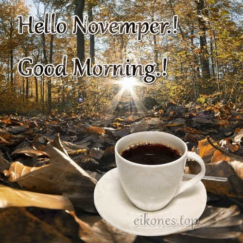 Hello November.! eikones.top