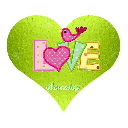 Hearts for Love and I Love!-eikones.top