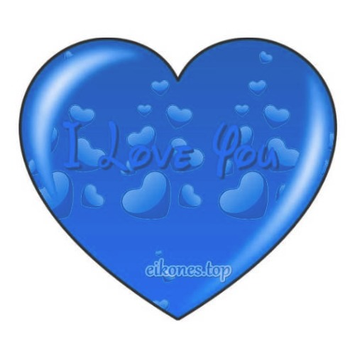 Καρδιές για Love και I Love You σε διάφορα χρώματα.!