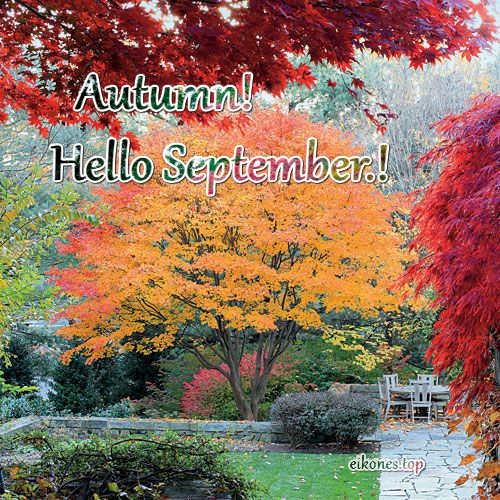 Εικόνες για Welcome Αutumn,Hello Autumn & September.!