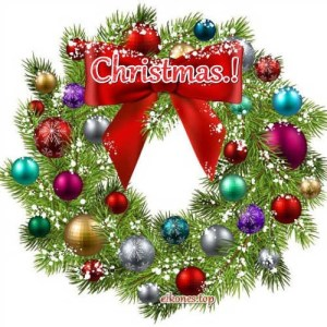 Christmas: Images with Christmas wreaths.!