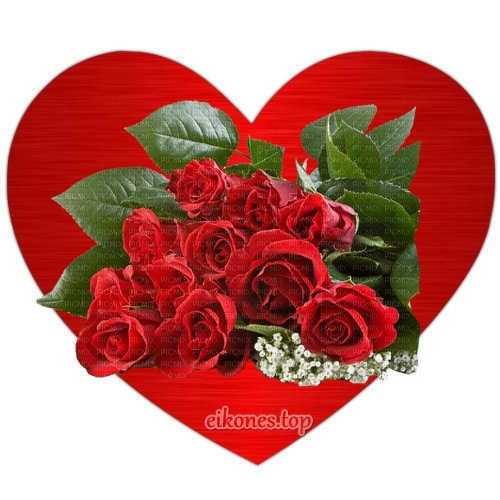 Καρδιές με τριαντάφυλλα. Εικόνες αγάπης χωρίς λόγια.!-eikones.top