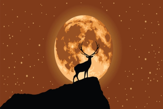 Read more about the article Πανσέληνος Ιουλίου : Το Φεγγάρι του ελαφιού ετοιμάζεται να ανατείλει