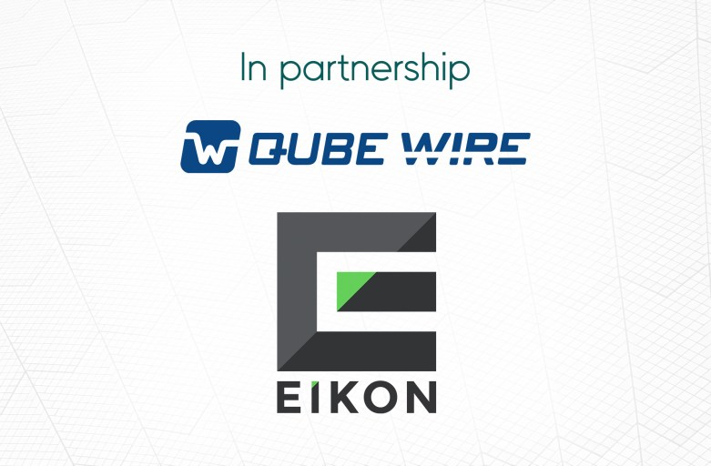 EIKON and Qube Wire partner to launch distribution services in Australia and NZ