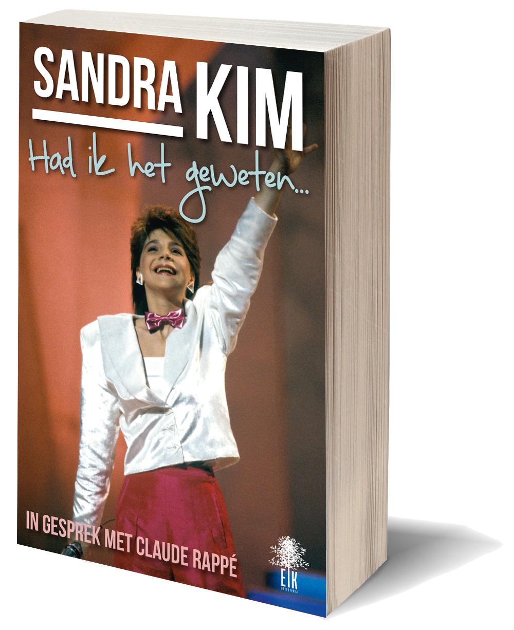 Omslag van Sandra Kim