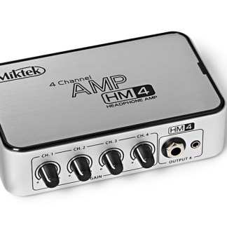 Miktek HM4 4-kanaals Headphone Amp
