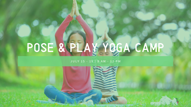 Pose & play yoga camp